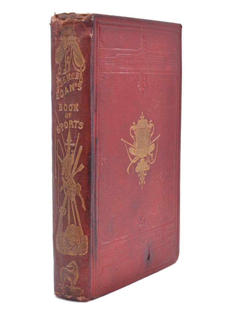 PIERCE EGAN'S 'BOOK OF SPORTS', LONDON 1835
