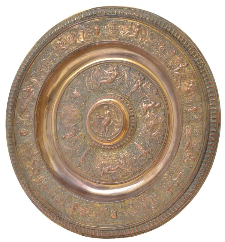 'VENUS ROSEWATER DISH' C. 1880, REPLICA OF THE LADIES WIMBLEDON CHAMPONSHIP TROPHY