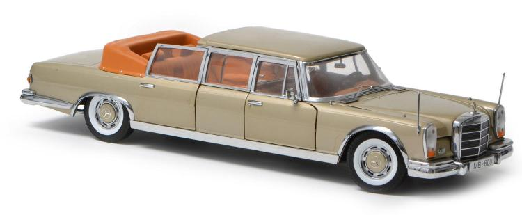 A SUN STAR MERCEDES-BENZ 600 LANDAU DIECAST MODEL