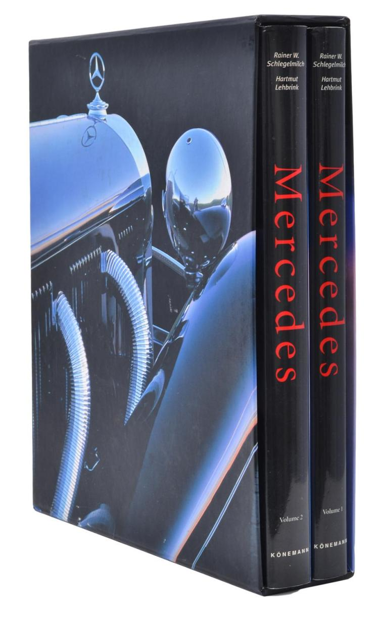 MERCEDES (2 VOLUMES), RAINER W. SCHLEGELMILCH AND HARTMUT LEHBRINK