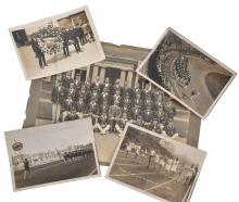 PRIVATE COLLECTION OF PHOTOGRAPHS & NOTES FROM THE 1924 PARIS OLYMPICS INCL. AUSTRALIAN OLYMPIAN ERNEST ELLIOT & THE AUSTRALIAN TEAM
