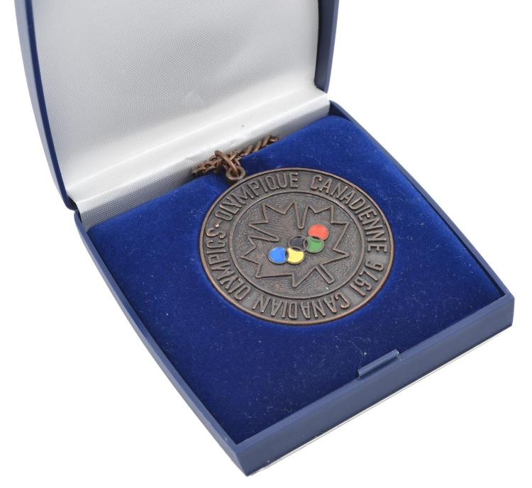 1976 MONTREAL OLYMPIC COMMEMORATIVE MEDAL, BOXED