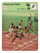 1976 MONTREAL OLYMPIC 200M SPRINT GOLD MEDALLIST & ATHLETICS CHAMPION DON QUARRIE AUTOGRAPH