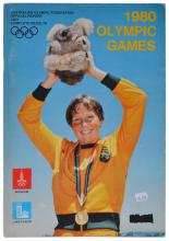 1980 MOSCOW OLYMPIC GAMES AUSTRALIAN OLYMPIC FEDERATION OFFICIAL REPORT/RESULTS BOOK