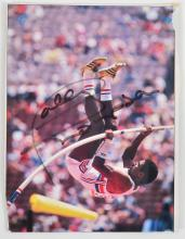 1980 MOSCOW OLYMPIC GAMES AUTOGRAPHED PHOTO OF DALEY THOMPSON (GOLD IN DECATHLON)
