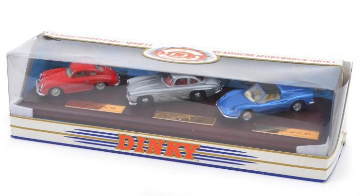 SET OF THREE DINKY MODELS