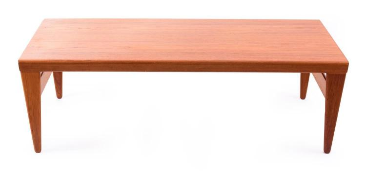 A mid century extension coffee table for Coffee table extension