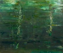 § GEOFFREY DYER (1947-2020) D'entrecasteaux Creek Abstraction 2012 oil on linen