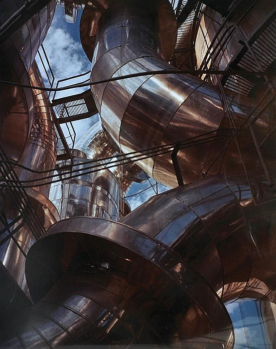 Wolfgang Sievers (1913-2007) Sulphuric Acid Plant at Electrolytic