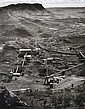 Wolfgang Sievers (1913-2007) Hamersley Iron Processing Plant at Mount Tom Price, Western Australia 1971 silver gelatin photograph, Tom Price, Click for value