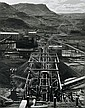 Wolfgang Sievers (1913-2007) Hamersley Iron Processing Plant at Mount Tom Price, Western Australia 1974 silver gelatin photograph, Tom Price, Click for value