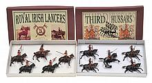 2 X BRITAINS SETS INCLUDING NO.23 5TH LANCERS;
