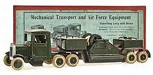 BRITAINS MECHANICAL TRANSPORT AND AIRFORCE EQUIPMENT