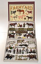 2 X VARIETY OF FARMYARD ANIMALS AND ITEMS