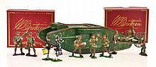 5 X MODERN BRITAIN SETS INCLUDING 08946 BRITISH TANK MARK 1 'MOTHER' MALE 2 X 160; 161 AND 130