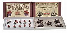 2 X BRITAINS SETS INCLUDING NO.30 DRUMS AND BUGLES OF THE LINE: