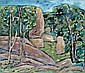 ARCHIBALD CUTHBERTSON (1924 - ) Granite Boulders,, Arch Cuthbertson, Click for value