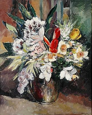 ARNOLD SHORE (1897 - 1963) Still Life with