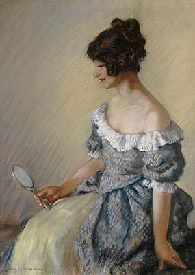 DORA LYNELL WILSON (1883 - 1946) Portrait of a
