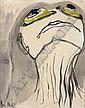 JOY HESTER (1920 - 1960) Face I, 1947 - 1948 bears, Joy Hester, Click for value