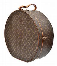 A HAT BOX BY LOUIS VUITTON