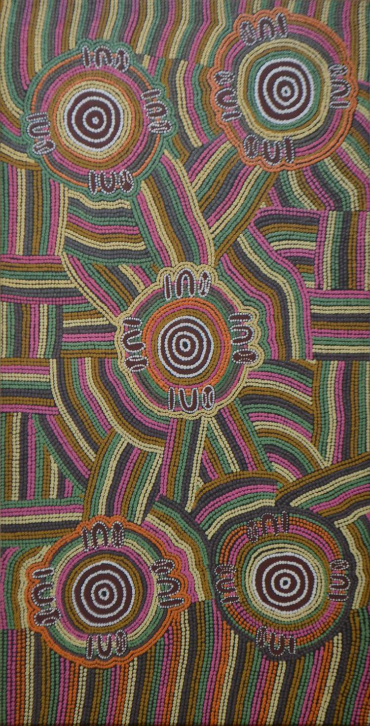 Naomi Daniels Nampijinpa Artwork for Sale at Online Auction