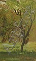 Jean Sutherland (1902-1978) View Through the Trees oil on board, Jean Sutherland, Click for value