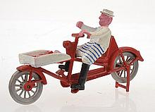 MORESTONE BUTCHER ON A BICYCLE, REPAINTED, UNBOXED