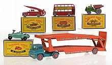 5 X MATCHBOX MODELS