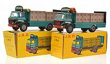 2 X JRD MINIATURES PREFONTAINES TRUCKS