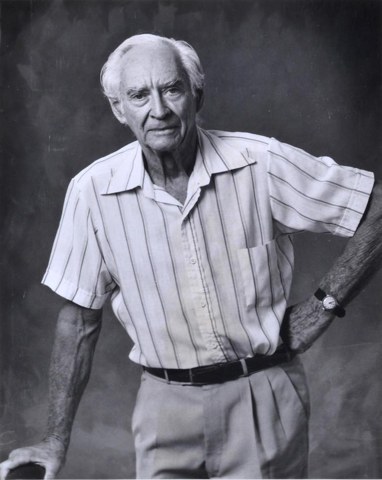 HENRY TALBOT (1920-99) Portrait of Max Dupain 1990 silver gelatin print