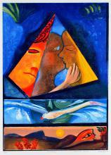 CHARLES BLACKMAN (BORN 1928) Timesong (Orpheus Suite) 2000 screenprint edition 66/70