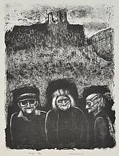 NOEL COUNIHAN (1913-1986) Image I 1981 lithograph edition 29/40