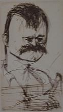 JOHN OLSEN (born 1928) John Littlewood 1999 etching