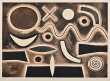 JOHN COBURN (1925-2006) Conotellation I etching 9/50