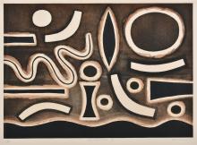 JOHN COBURN (1925-2006) Conotellation II etching 9/50