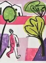 MARK SCHALLER (BORN 1962) Clifton Hill etching artist's proof