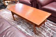 A 1960's PARKER TEAK COFFEE TABLE