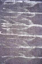 PERSIAN MODERN VINTAGE OVERDYE WOOL PILE RUG- NEW CREATION OF PERSIAN MODERN DESIGNS, ORIGIN- IRAN. 290 X 191CM; RRP $3800