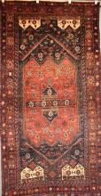 RARE PERSIAN SHAHSAWA TRIBAL RUG, SEMI-ANTIQUE CIRCA 1960''s, ORIGIN IRAN - 280 X 130, RRP $3500