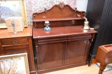 A VICTORIAN STYLE CHIFFONIER