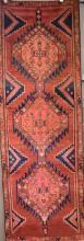 A CIRCA 1960's PERSIAN SARAB AZERBAIJAN HALL RUNNER, WOOL PILE & NATURAL DYES, ORIGIN IRAN, 250 X 90, RRP $2500
