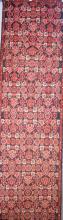 A PERSIAN HAMEDAN HALL RUNNER, WOOLLEN PILE, VERY HARD WEARING, ORIGIN IRAN, (378CM X 80) RRP $2500