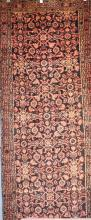 A PERSIAN MALAYER HALL RUNNER, WOOLLEN PILE - HARD SIZE TO SOURCE, ORIGIN IRAN, VERY GOOD CONDITION, 290 X 110, RRP $2900