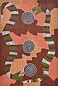 BILLY STOCKMAN TJAPALTJARRI (BORN 1925) Snake Dreaming acrylic on canvas