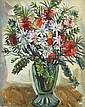 MARGARET PRESTON (1875-1963) Bottlebrush and Flannel Flowers 1951 oil on canvas