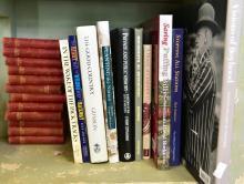A PART SHELF OF LOCAL HISTORY & TRAIN RELATED BOOKS INCL. PRIVATE & PUBLIC MEMORY; MALVERN, SAVING PUFFIN BILL
