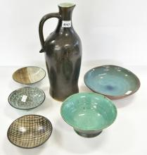 A COLLECTION OF AUSTRALIAN STUDIO CERAMICS, INCL. DAVID AND HERMIA BOYD.