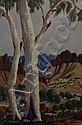 Enos Namatjira (1920-1966) (Untitled) watercolour, Enos Namatjira, Click for value
