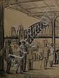 Juliet Pannett (1911-2005) From the Circular Quay; View from Pylon, Sydney Bridge 1959 pencil, Juliet Pannett, Click for value